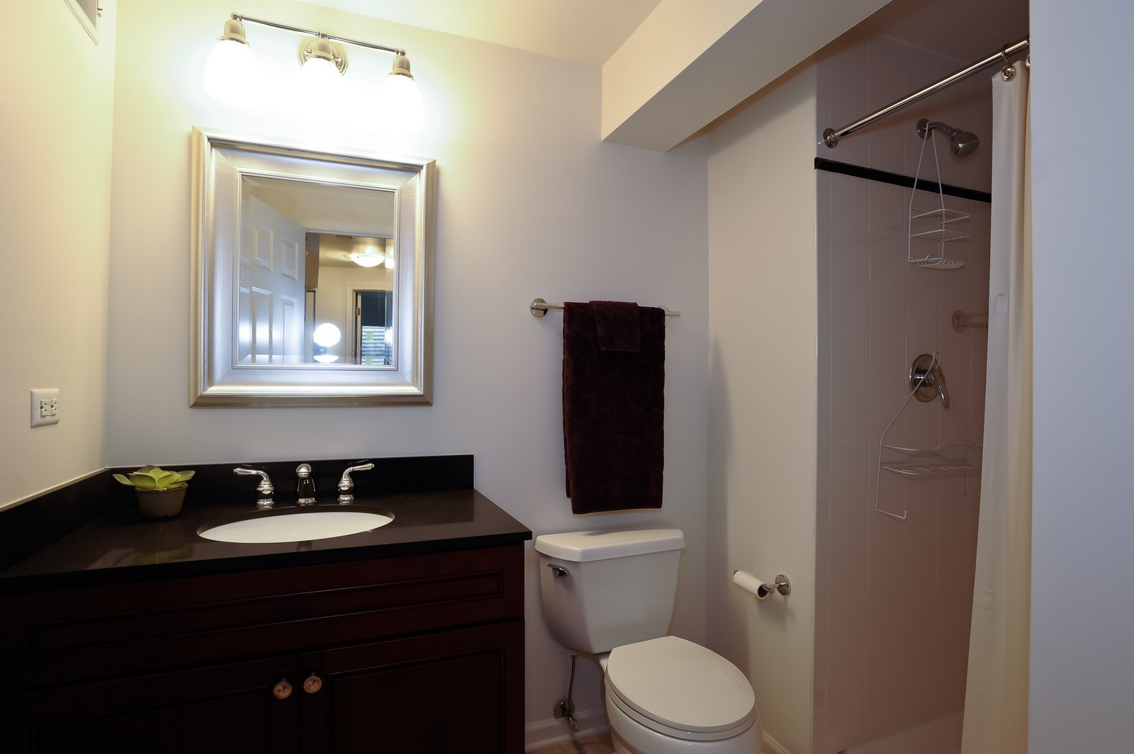 Real Estate Photography - 501 Citadel Circle, Westmont, IL, 60559 - Lower Level Bathroom