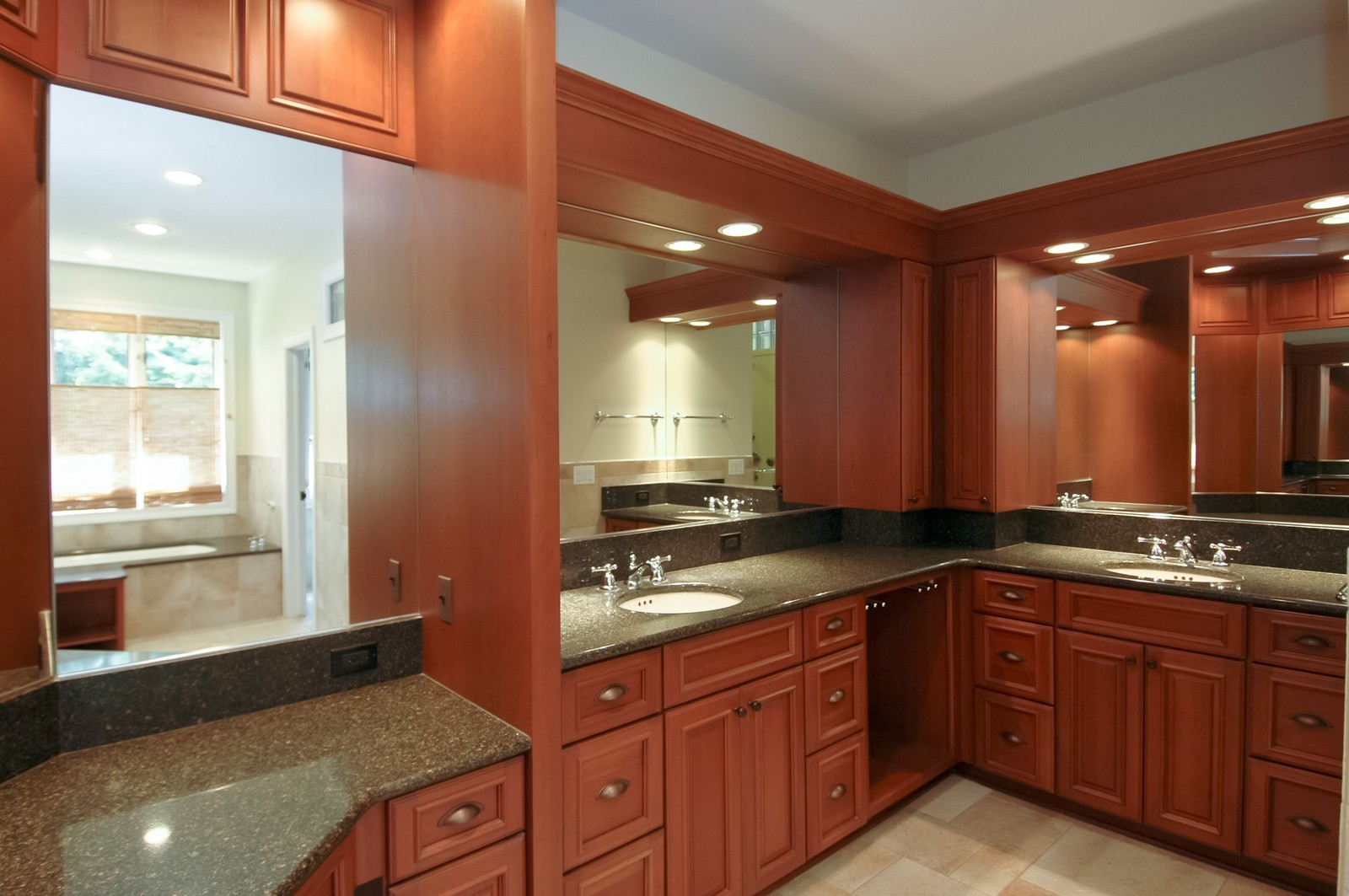 Real Estate Photography - 77 S Wynstone, North Barrington, IL, 60010 - Master Bathroom