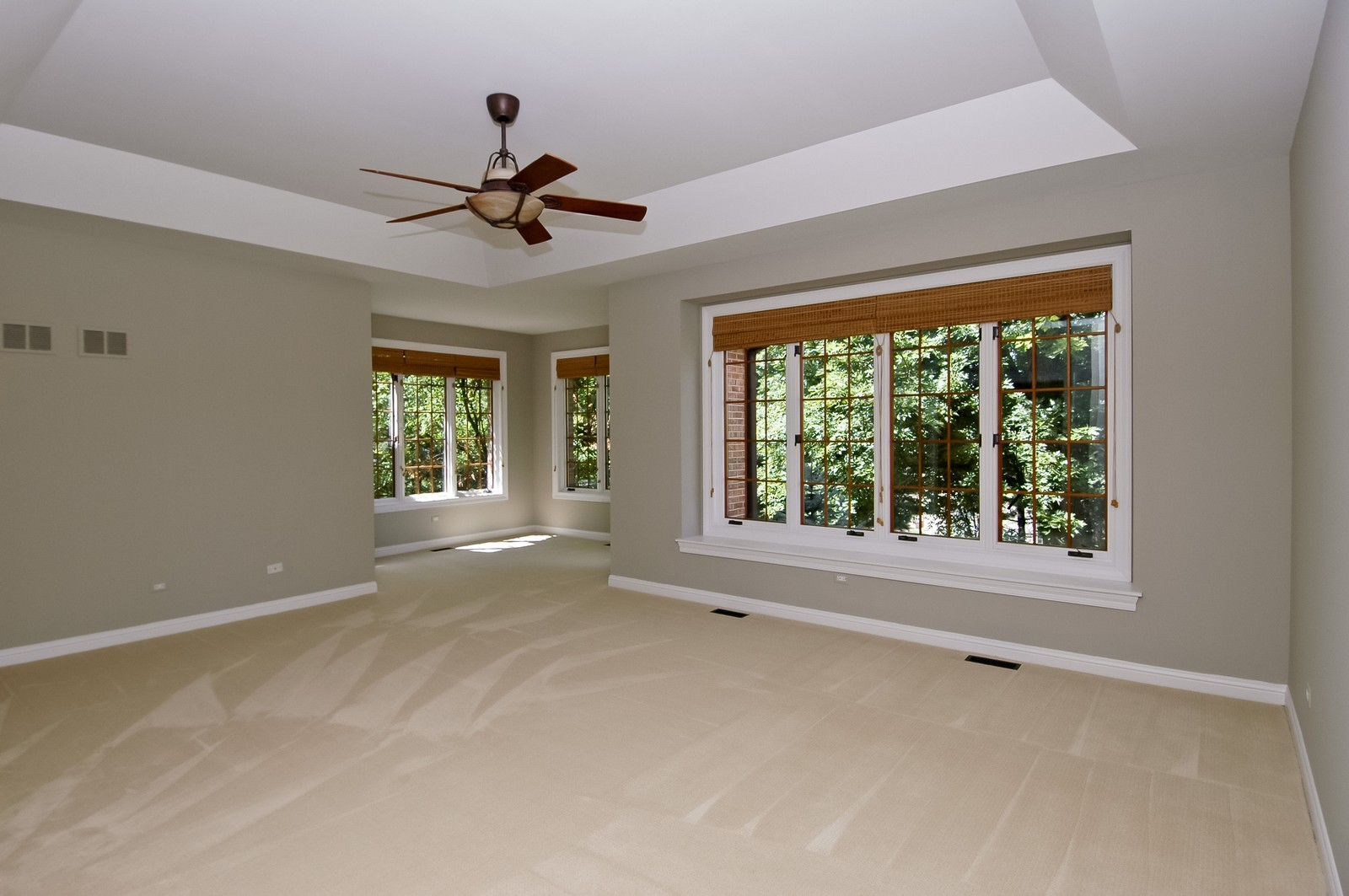 Real Estate Photography - 77 S Wynstone, North Barrington, IL, 60010 - Master Bedroom