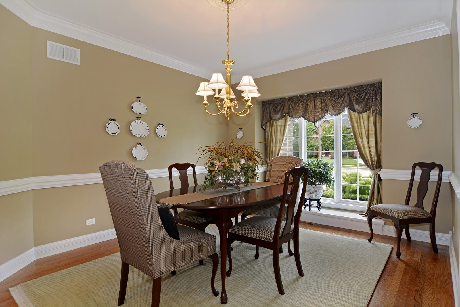 Real Estate Photography - 417 Kristin St, Westmont, IL, 60559 - Dining Room