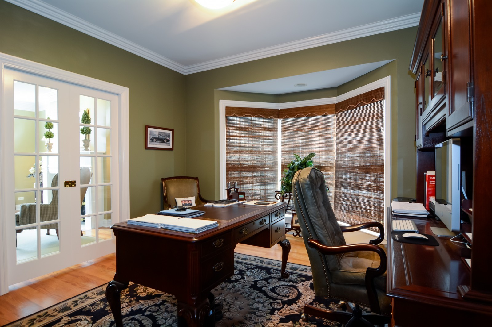 Real Estate Photography - 417 Kristin St, Westmont, IL, 60559 - Office