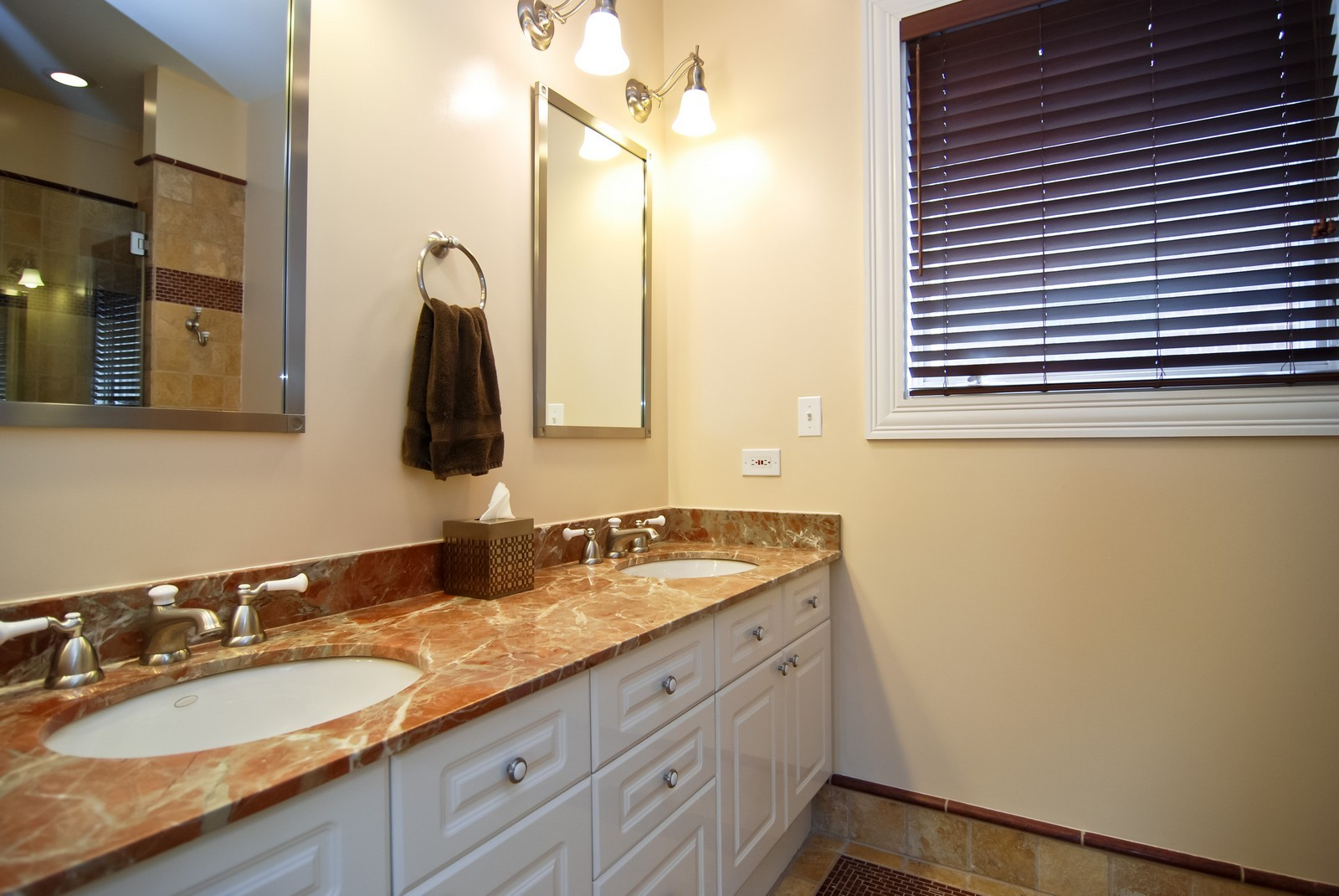 Real Estate Photography - 1351 W Altgeld, Unit 2K, Chicago, IL, 60614 - Master Bathroom