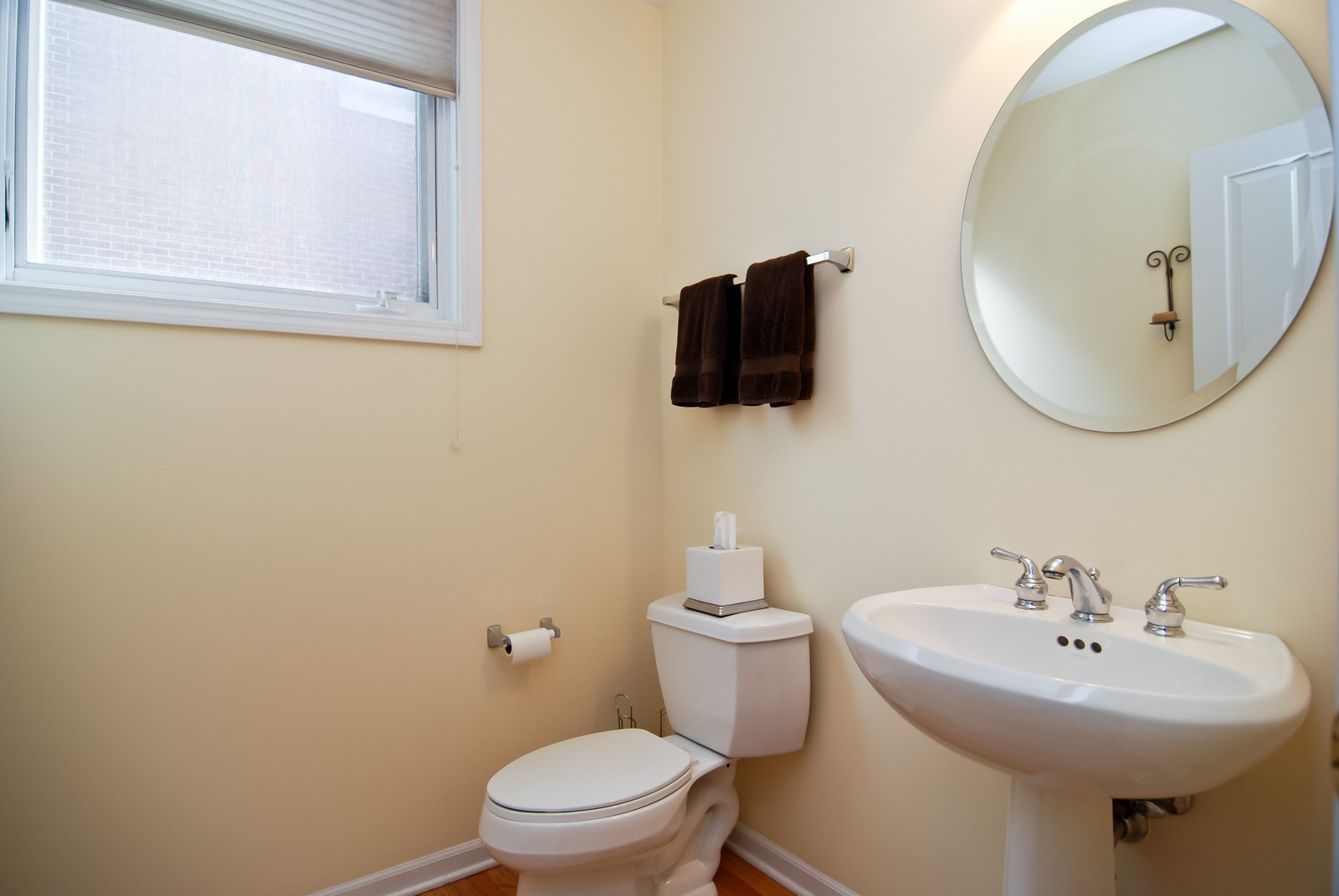 Real Estate Photography - 1351 W Altgeld, Unit 2K, Chicago, IL, 60614 - Powder Room