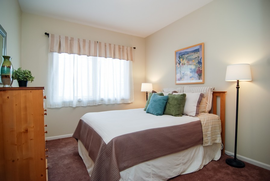 Real Estate Photography - 1351 W Altgeld, Unit 2K, Chicago, IL, 60614 - 2nd Bedroom