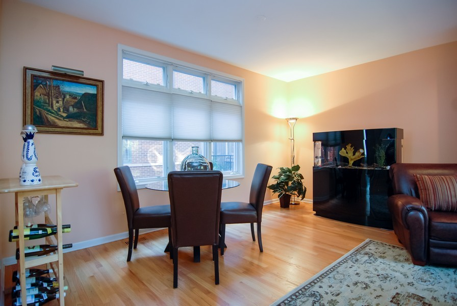 Real Estate Photography - 1351 W Altgeld, Unit 2K, Chicago, IL, 60614 - Dining Room