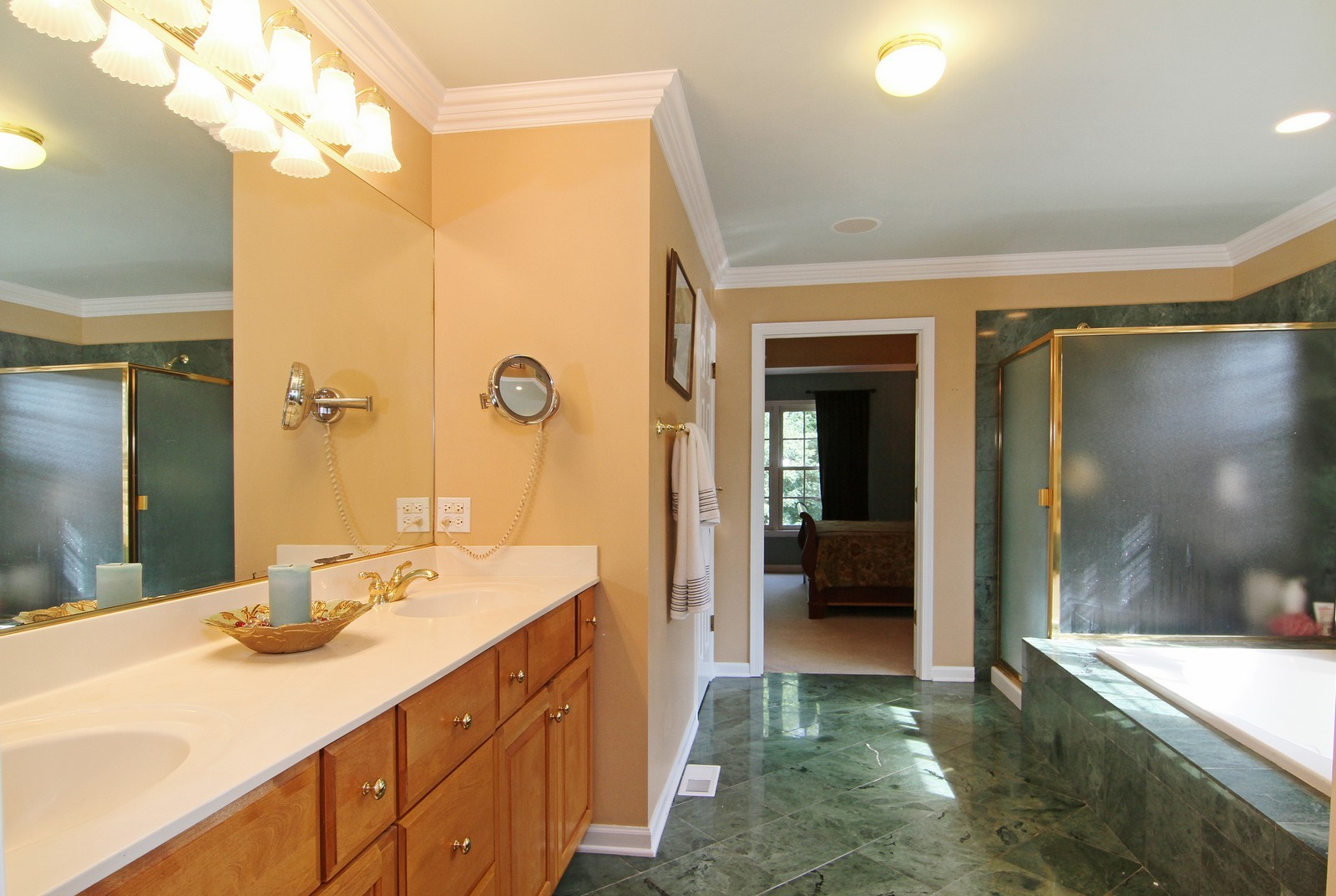 Real Estate Photography - 212 E 57th St, Westmont, IL, 60559 - Master Bathroom