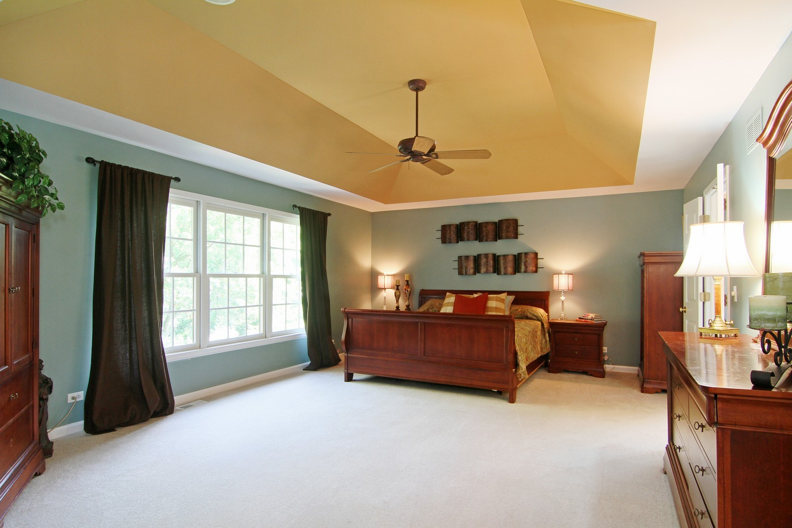 Real Estate Photography - 212 E 57th St, Westmont, IL, 60559 - Master Bedroom
