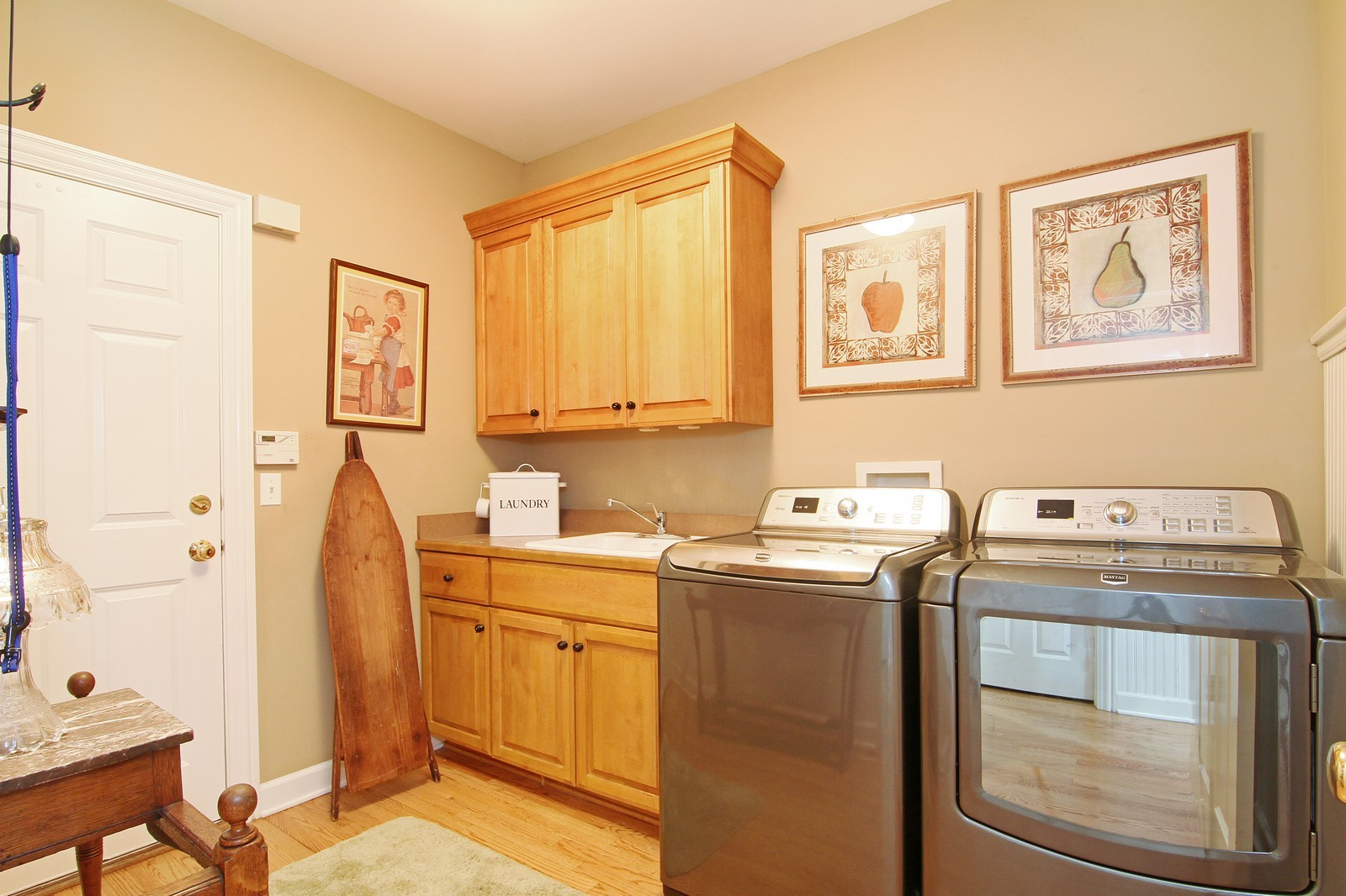 Real Estate Photography - 212 E 57th St, Westmont, IL, 60559 - Laundry Room