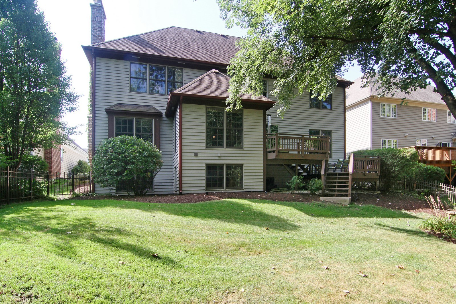 Real Estate Photography - 212 E 57th St, Westmont, IL, 60559 - Rear View