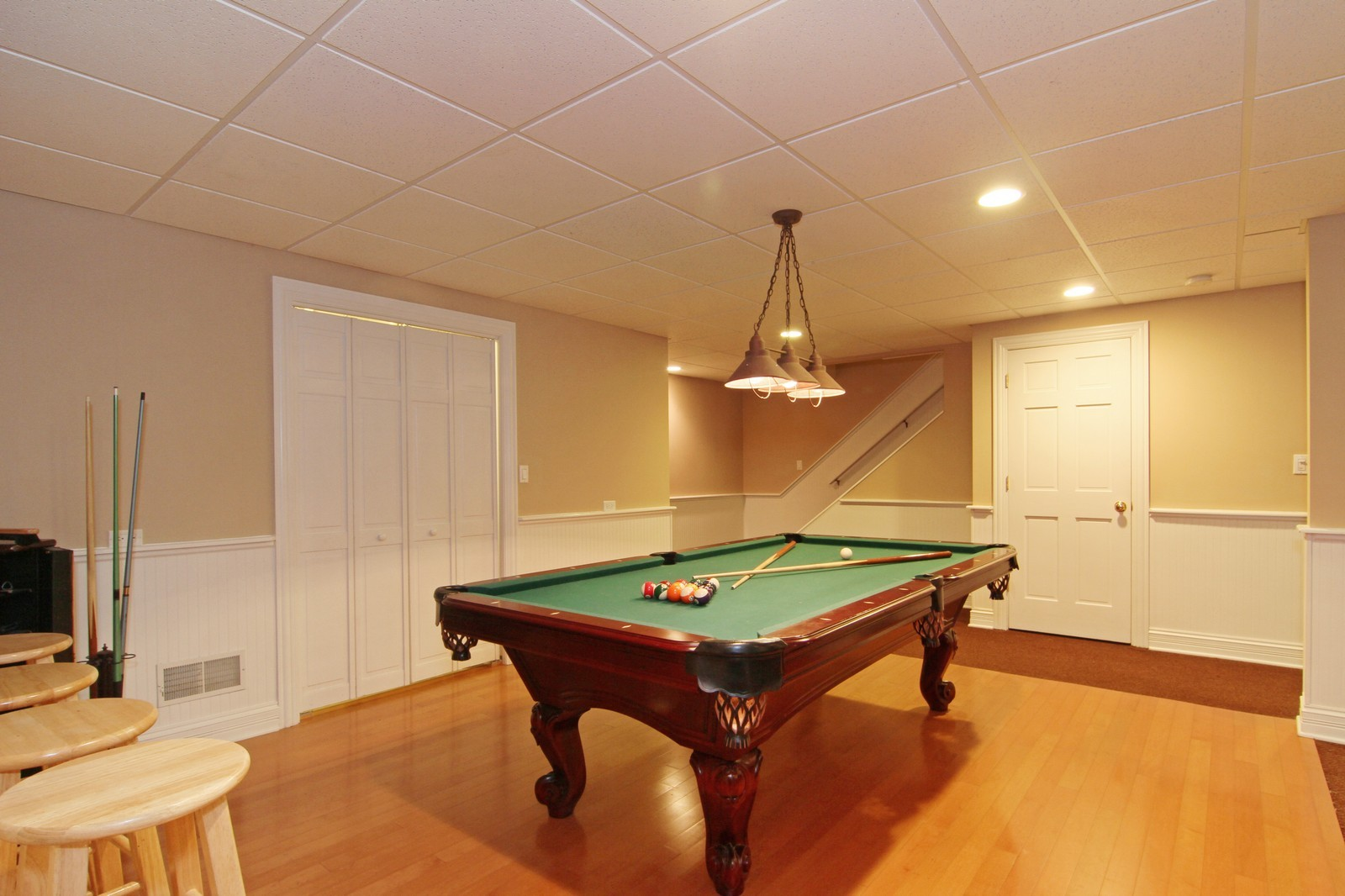 Real Estate Photography - 212 E 57th St, Westmont, IL, 60559 - Pool Room
