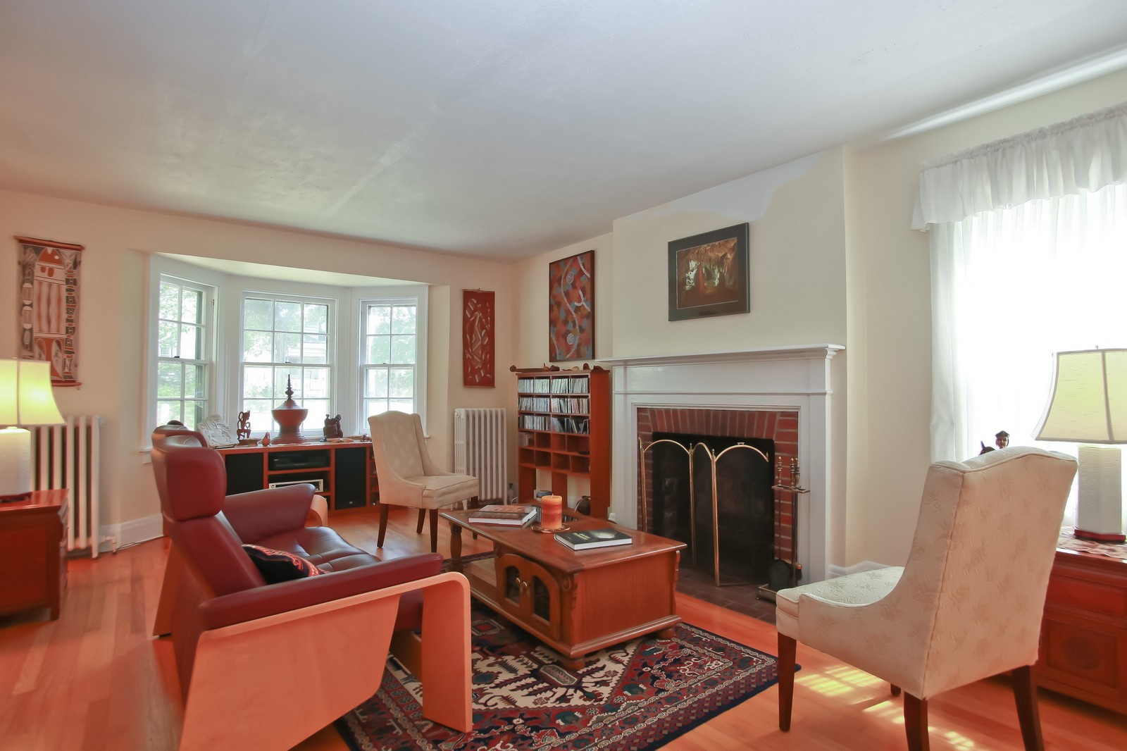 Real Estate Photography - 4459 N Newhall Ave, Shorewood, WI, 53211 - Living Room