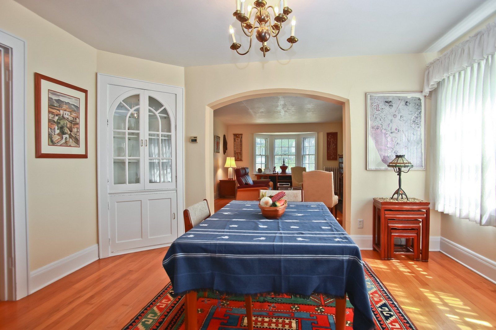 Real Estate Photography - 4459 N Newhall Ave, Shorewood, WI, 53211 - Dining Room