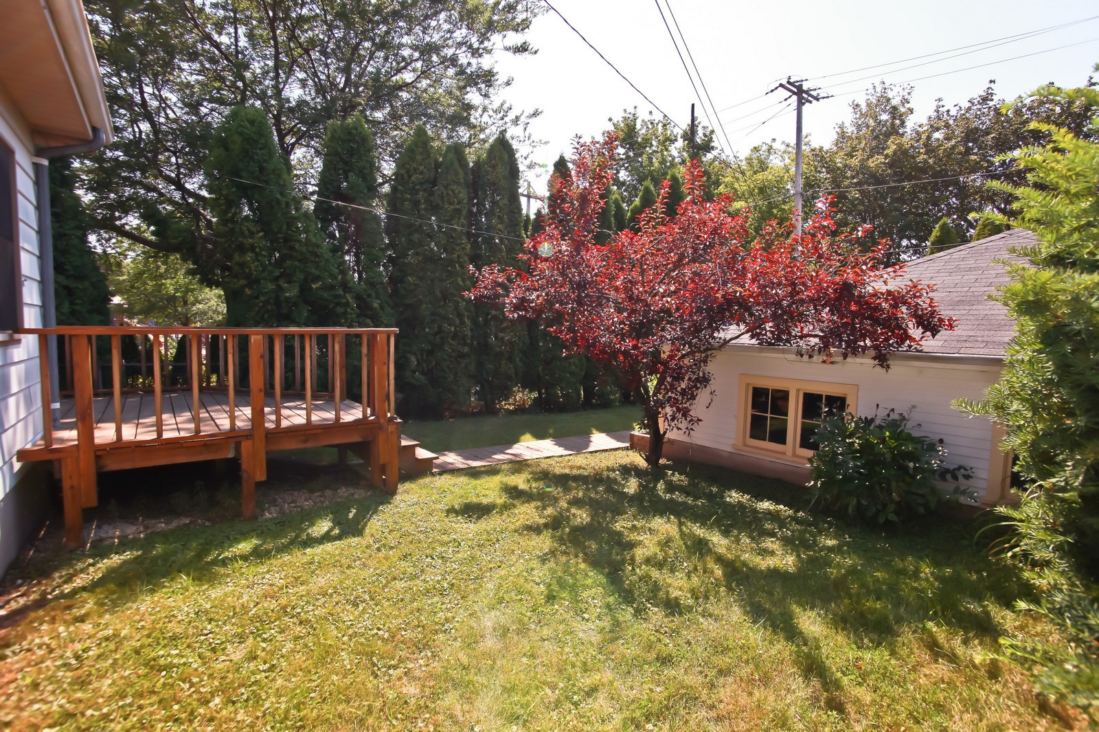 Real Estate Photography - 4459 N Newhall Ave, Shorewood, WI, 53211 - Back Yard