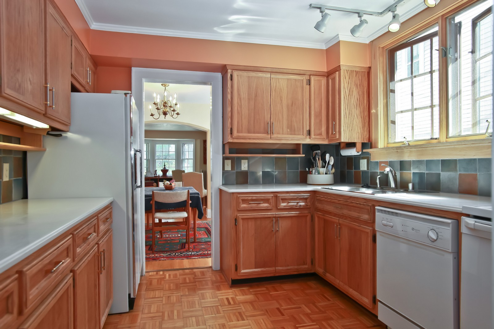 Real Estate Photography - 4459 N Newhall Ave, Shorewood, WI, 53211 - Kitchen