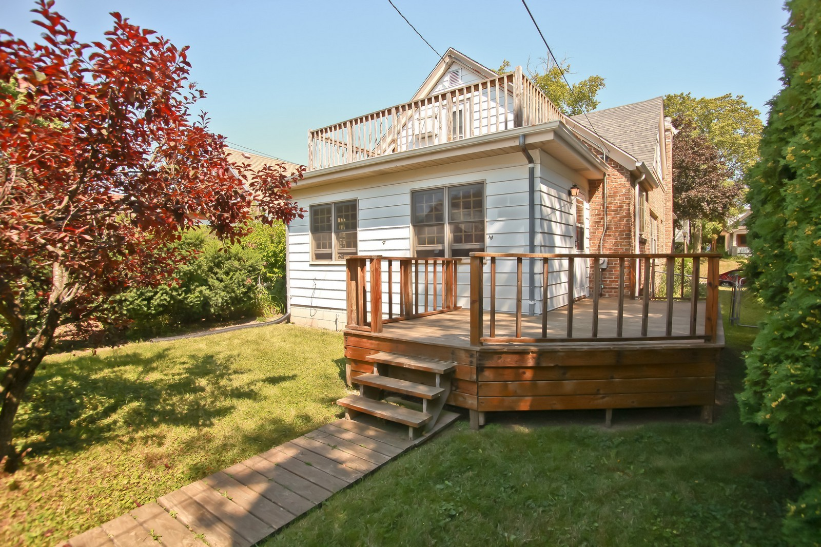 Real Estate Photography - 4459 N Newhall Ave, Shorewood, WI, 53211 - Deck