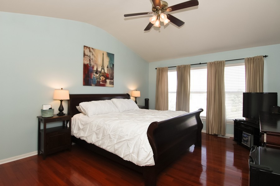 Real Estate Photography - 4370 Whitehall Ln, Algonoquin, IL, 60102 - Master Bedroom