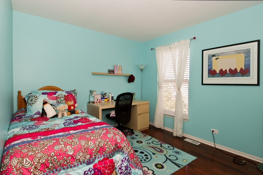 Real Estate Photography - 4370 Whitehall Ln, Algonoquin, IL, 60102 - Bedroom