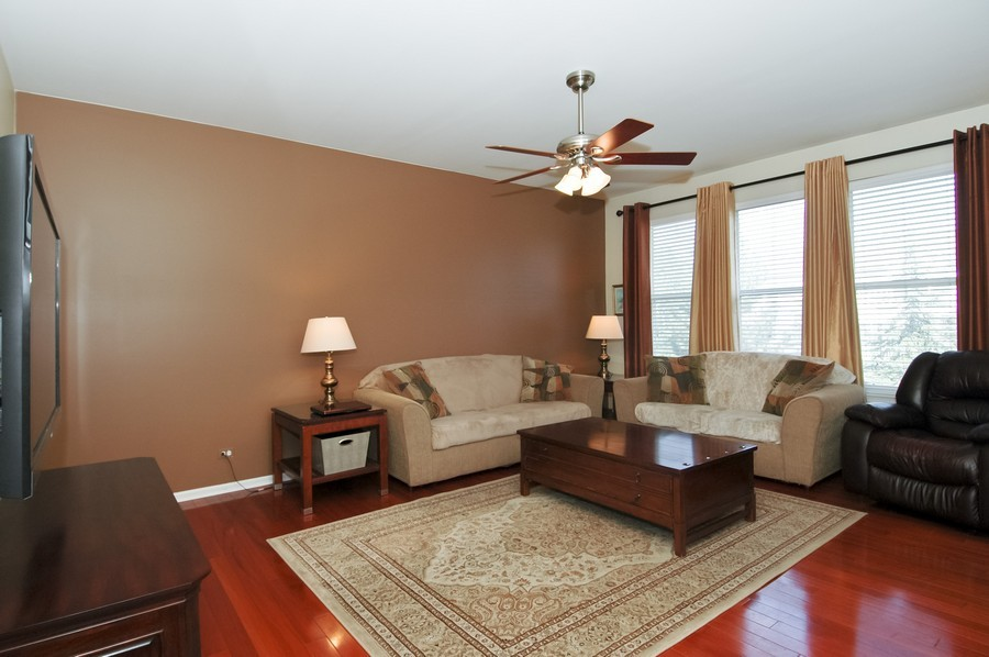 Real Estate Photography - 4370 Whitehall Ln, Algonoquin, IL, 60102 - Family Room