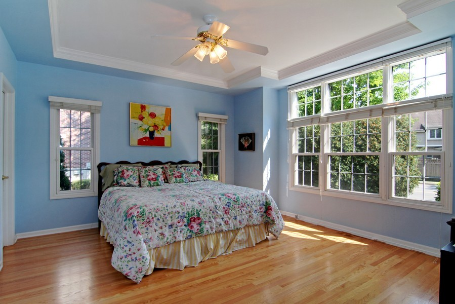 Real Estate Photography - 414 Park Ave, Clarendon Hills, IL, 60514 - Bedroom