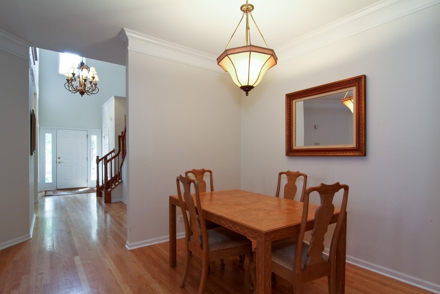 Real Estate Photography - 414 Park Ave, Clarendon Hills, IL, 60514 - Dining Room