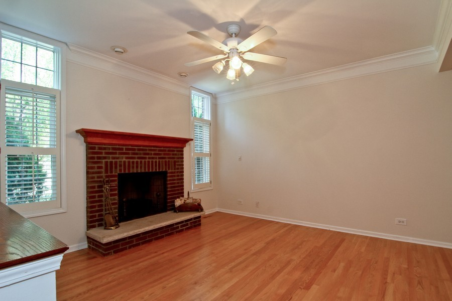 Real Estate Photography - 414 Park Ave, Clarendon Hills, IL, 60514 - Great Room