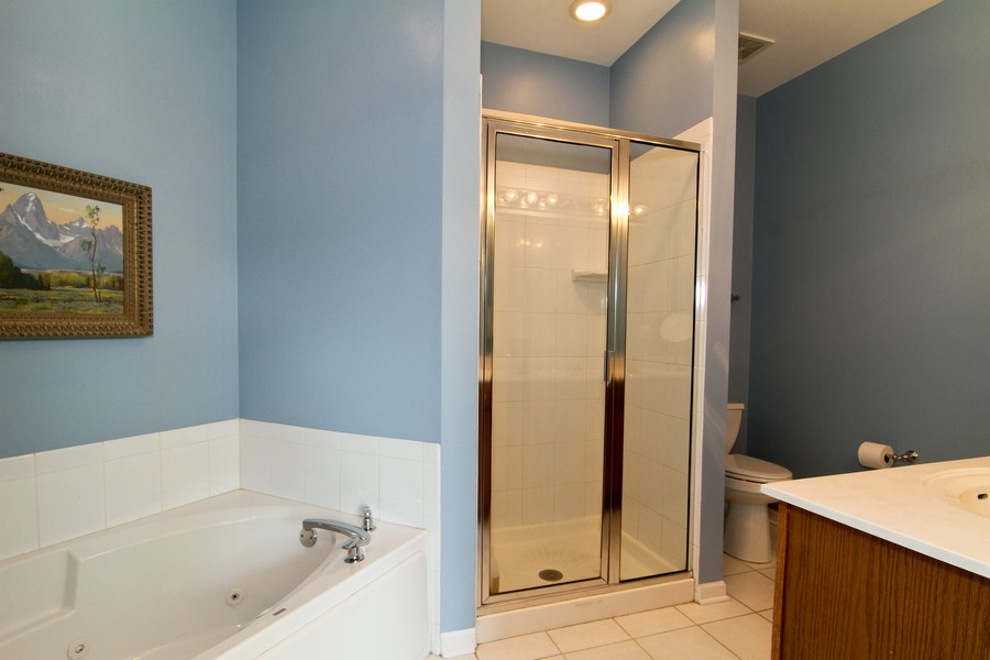 Real Estate Photography - 414 Park Ave, Clarendon Hills, IL, 60514 - Bathroom