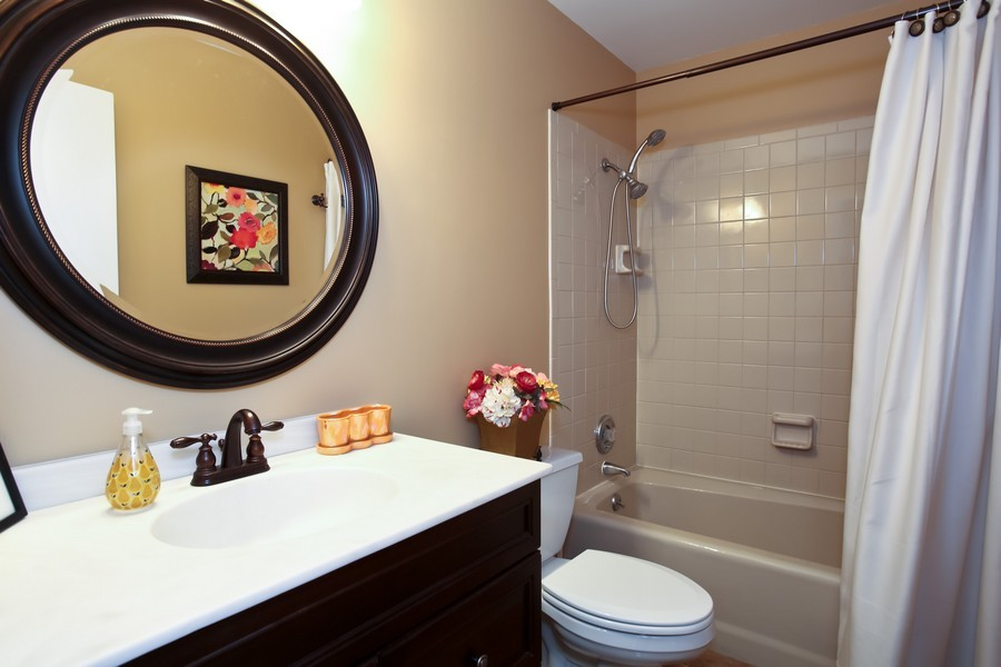 Real Estate Photography - 5715 Fairmount, Downers Grove, IL, 60516 - Bathroom