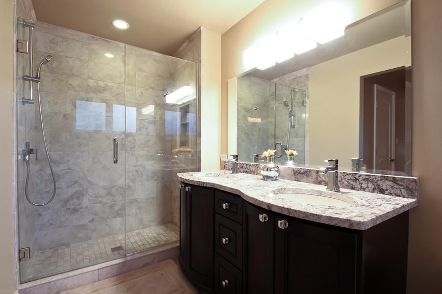 Real Estate Photography - 50 Briarwood Lane, Oak Brook, IL, 60523 - Master Bathroom