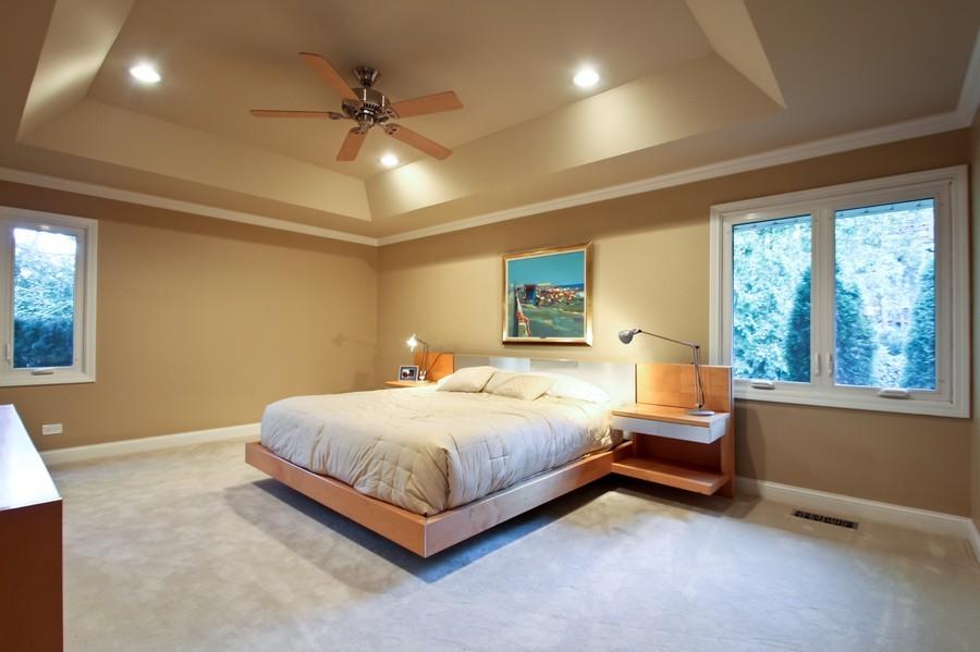 Real Estate Photography - 50 Briarwood Lane, Oak Brook, IL, 60523 - Master Bedroom