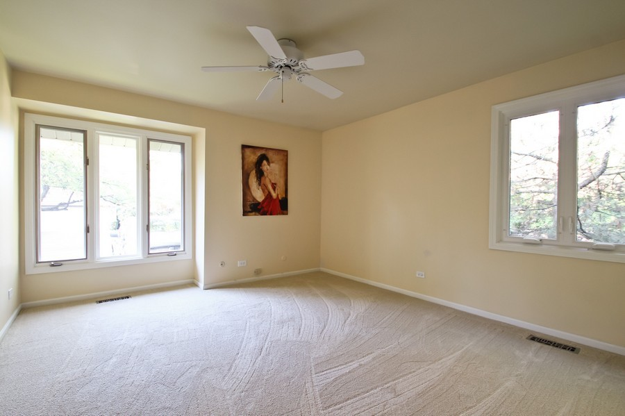 Real Estate Photography - 50 Briarwood Lane, Oak Brook, IL, 60523 - 3rd Bedroom