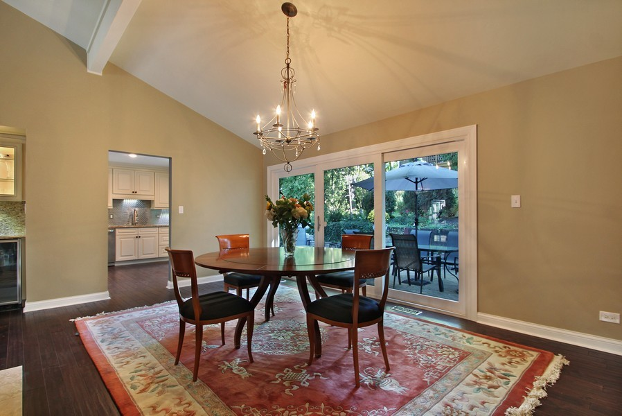 Real Estate Photography - 50 Briarwood Lane, Oak Brook, IL, 60523 - Dining Room