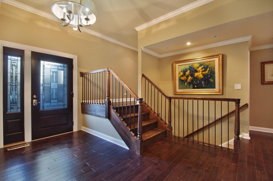 Real Estate Photography - 50 Briarwood Lane, Oak Brook, IL, 60523 - Foyer -All new remodelled home !
