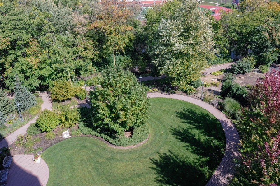 Real Estate Photography - 520 S Washington Street, PH3, Naperville, IL, 60540 - Back Yard