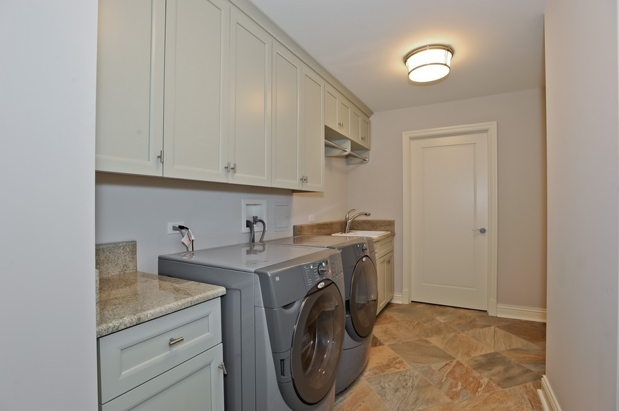 Real Estate Photography - 520 S Washington Street, PH3, Naperville, IL, 60540 - Laundry Room