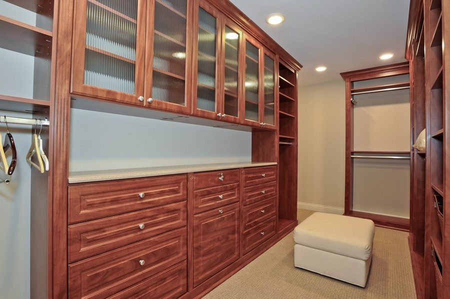 Real Estate Photography - 520 S Washington Street, PH3, Naperville, IL, 60540 - Master Bedroom Closet