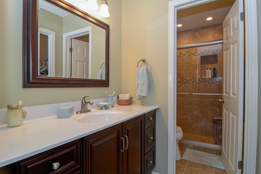 Real Estate Photography - 913 Wheaton Oaks Dr, Wheaton, IL, 60187 - Master Bathroom