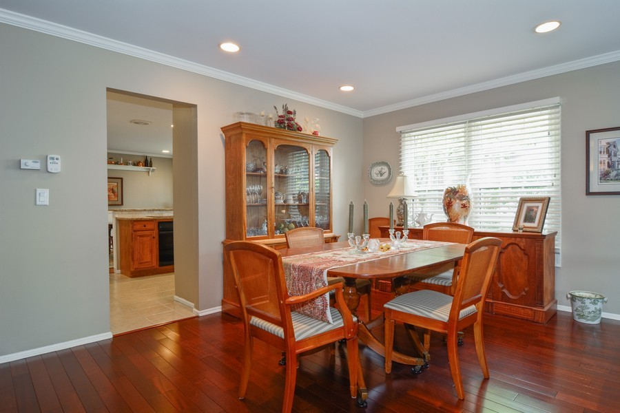 Real Estate Photography - 913 Wheaton Oaks Dr, Wheaton, IL, 60187 - Dining Room