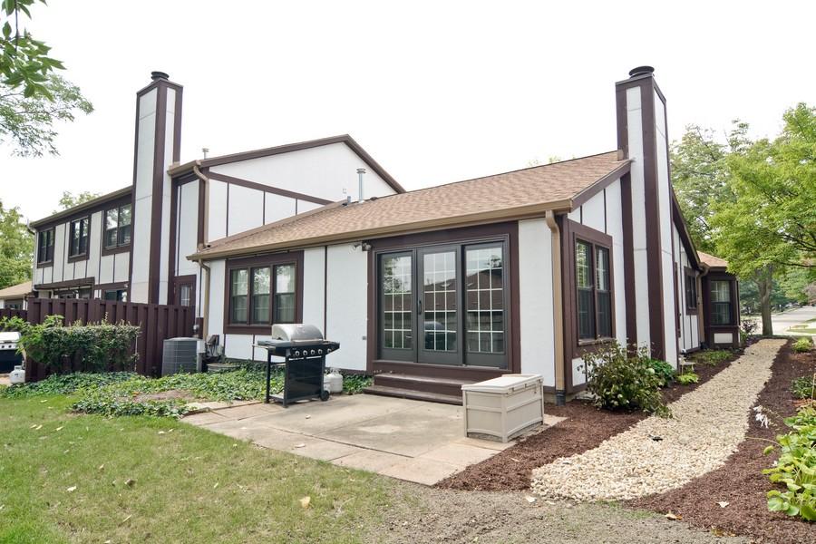 Real Estate Photography - 913 Wheaton Oaks Dr, Wheaton, IL, 60187 - Rear View