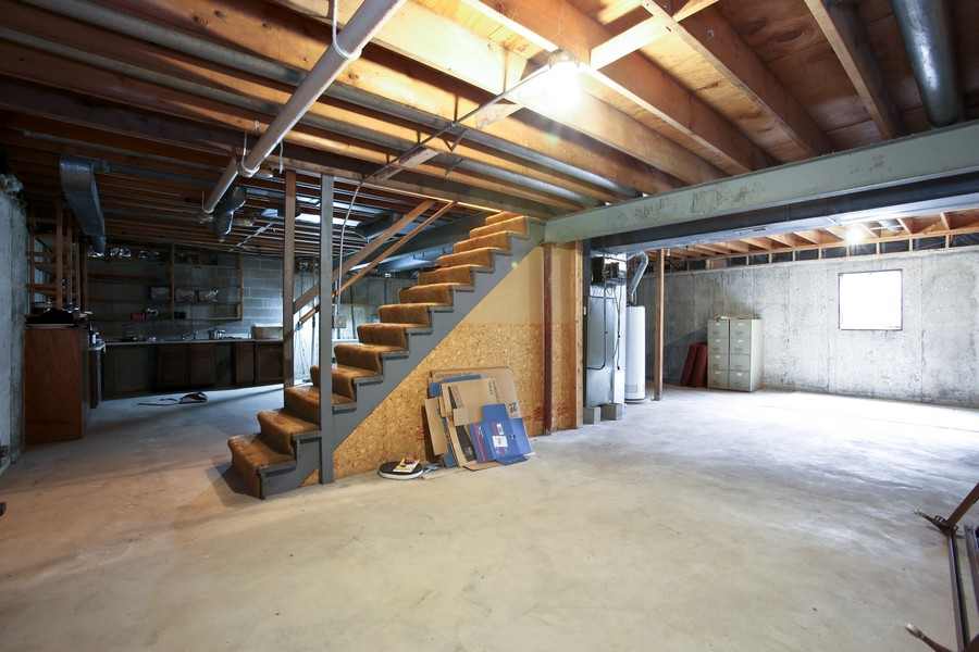 Real Estate Photography - 3351 Pomeroy Road, Downers Grove, IL, 60515 - Basement
