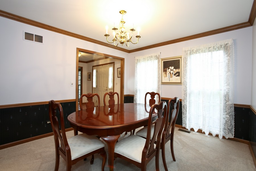 Real Estate Photography - 1006 augustana, Naperville, IL, 60565 - Dining Room