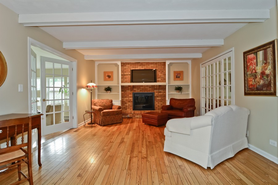 Real Estate Photography - 22W119 McCarron, Glen Ellyn, IL, 60137 - Family Room