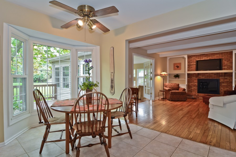 Real Estate Photography - 22W119 McCarron, Glen Ellyn, IL, 60137 - Breakfast Nook