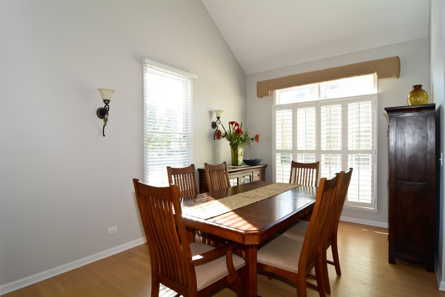 Real Estate Photography - 29W501 Cerny Circle, Warrenville, IL, 60555 - Dining Room