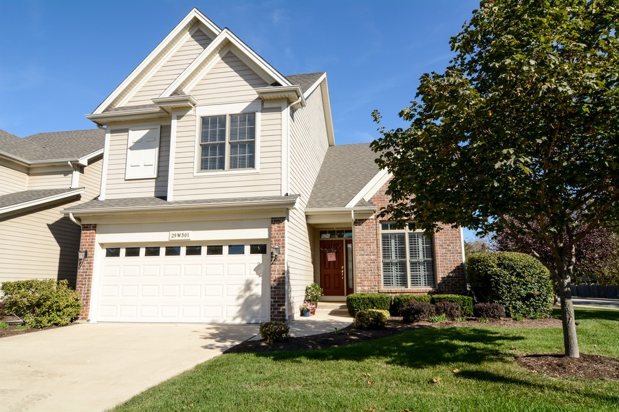Real Estate Photography - 29W501 Cerny Circle, Warrenville, IL, 60555 - Front View
