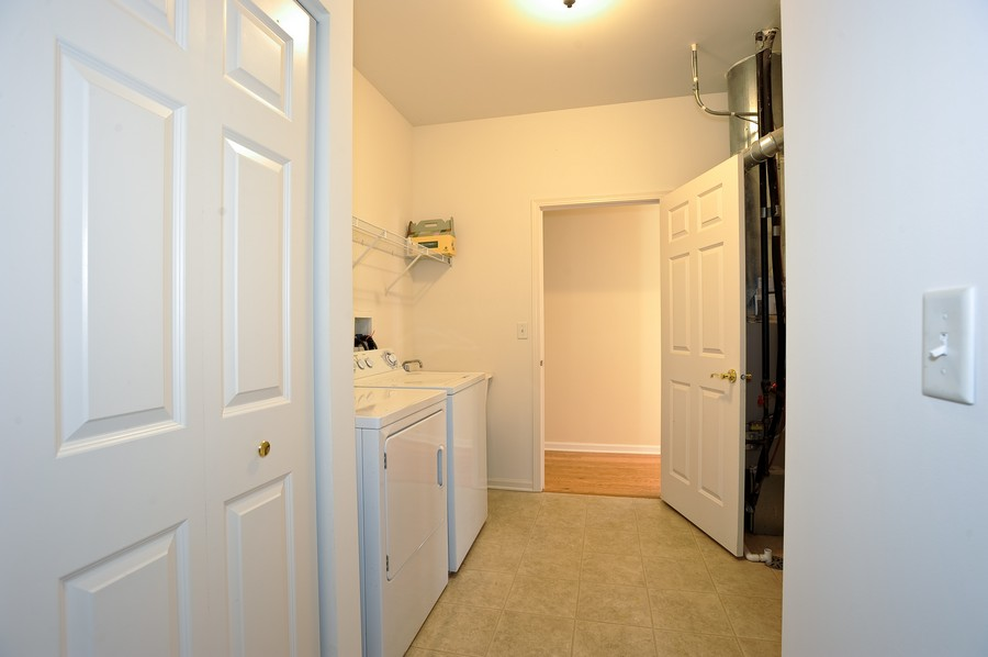 Real Estate Photography - 1523 Waterside drive, Dekalb, IL, 60115 - Laundry Room