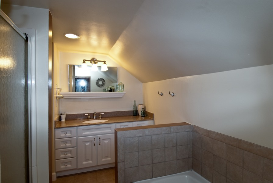 Real Estate Photography - 319 S Cook, Barrington, IL, 60010 - Bathroom