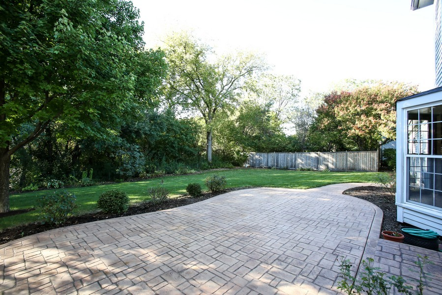 Real Estate Photography - 4230 Pine, Lisle, IL, 60532 - Patio