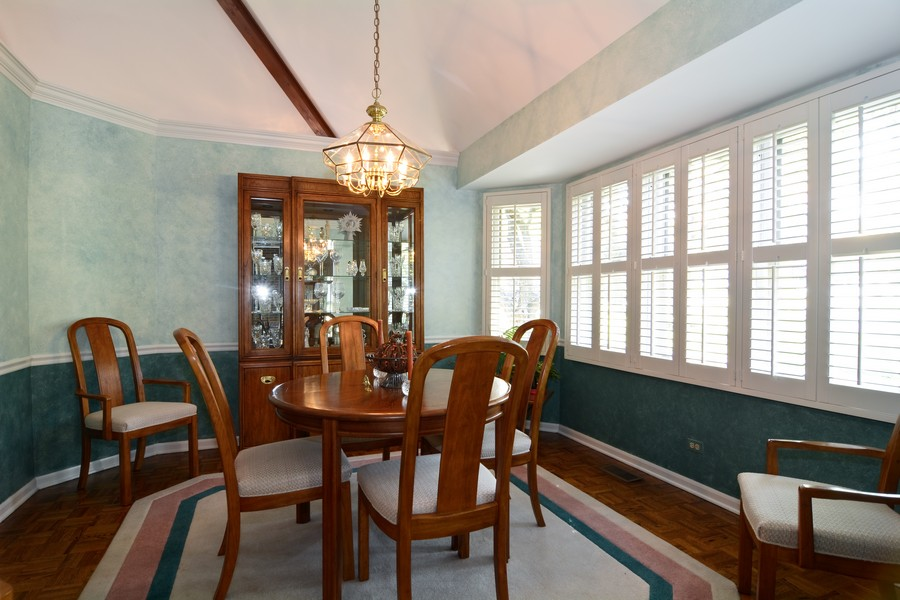 Real Estate Photography - 866 Seminary Cir, Glen Ellyn, IL, 60137 - Dining Room