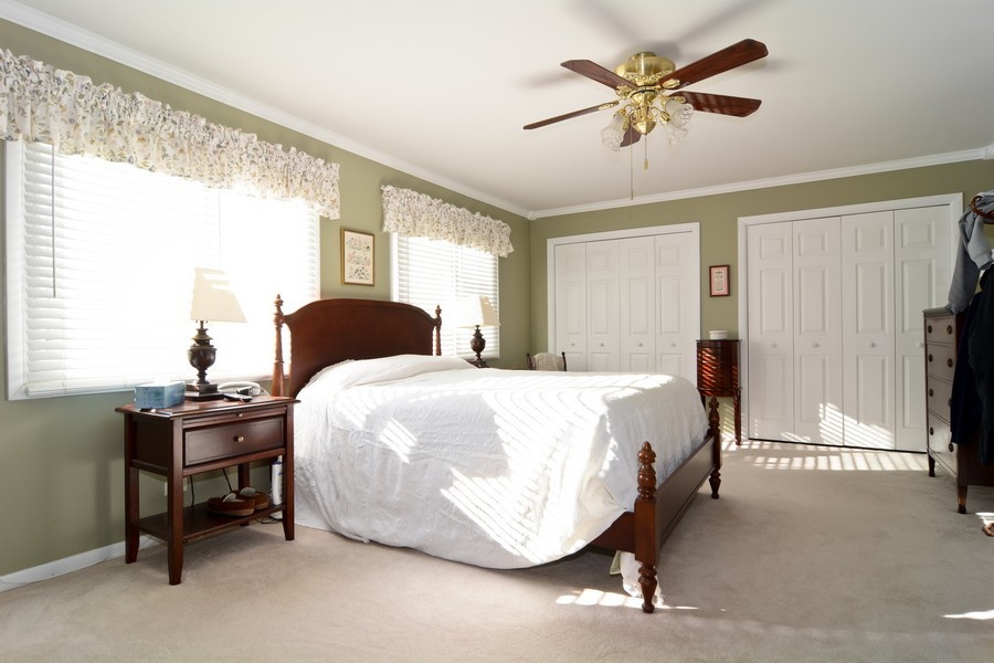 Real Estate Photography - 34 n Park Blvd, Glen Ellyn, IL, 60137 - Master Bedroom