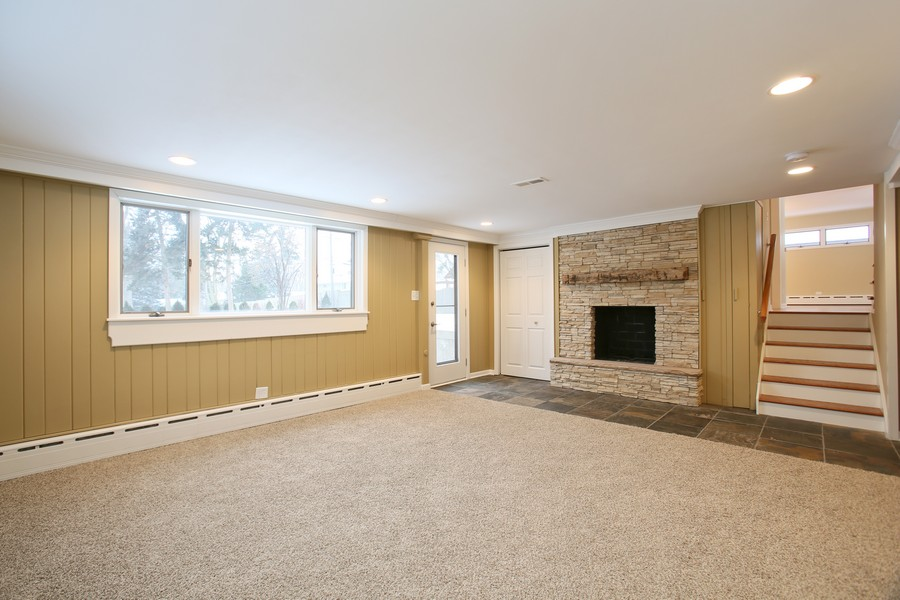 Real Estate Photography - 441 Bunning, Downers Grove, IL, 60516 - Lower Level